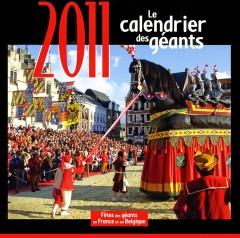 Calendrier des Géants 2011